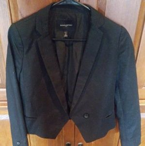 Black size small  Banana Republic Blazer